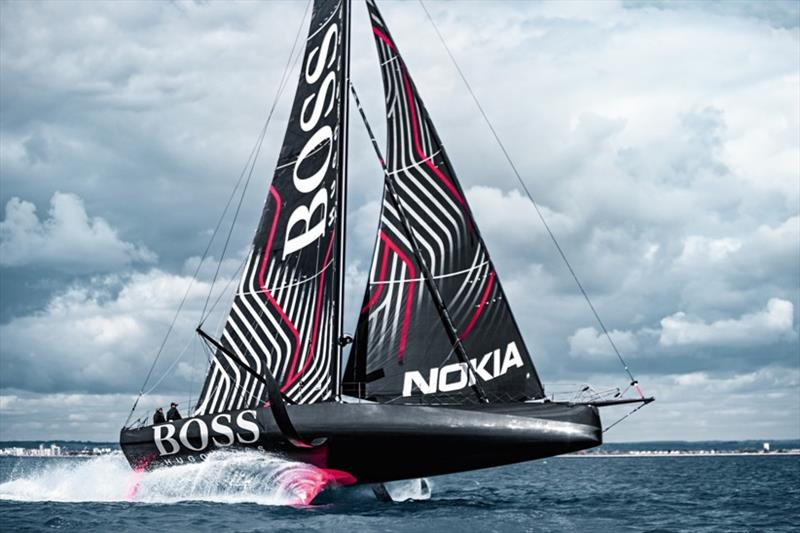 Hugo Boss - Alex Thomson - photo © Karim Rachid / Hugo Boss