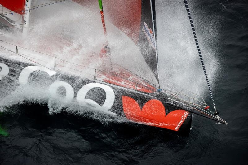 Maître-CoQ - Vendée Globe photo copyright Jean-Marie Liot taken at  and featuring the IMOCA class