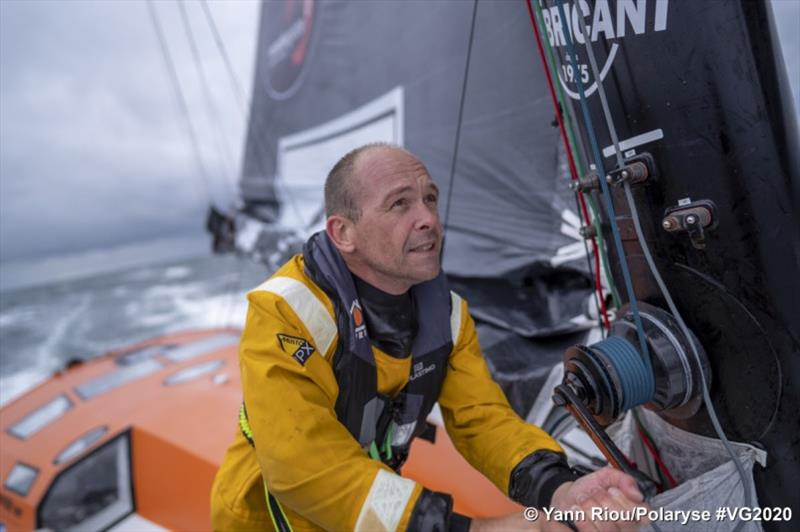 Kevin Escoffier - Vendée Globe - photo © Yann Riou / Polaryse / VG2020