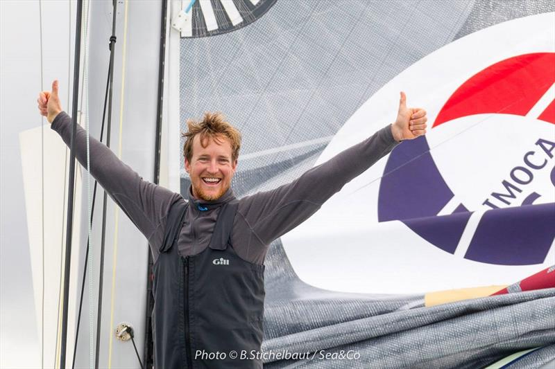 Conrad Colman joins 69F photo copyright B. Stichelbaut / Sea&Co taken at  and featuring the IMOCA class