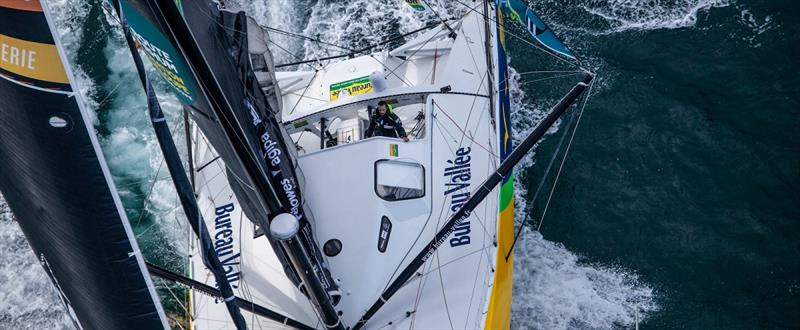 Vendée Globe Day 72 morning update: Burton on the button, first out Doldrums