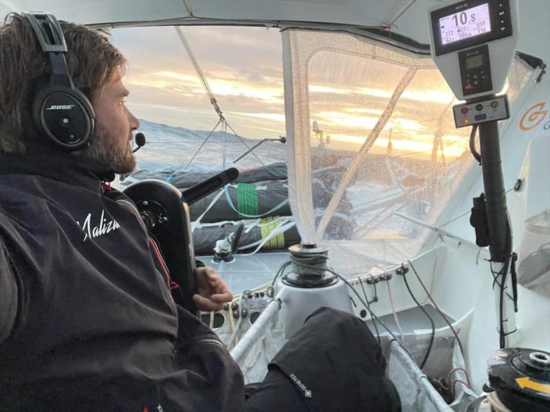 Boris Herrmann on Sea Explorer - Yacht Club de Monaco during the Vendée Globe - photo © Boris Herrmann
