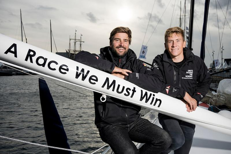 Boris Herrmann & Pierre Casiraghi - photo © Vincent Curutchet / IMOCA