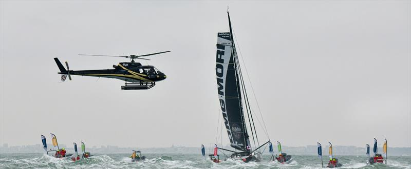 DMG MORI Sailing Team - Vendée Globe - photo © Olivier Blanchet / Alea