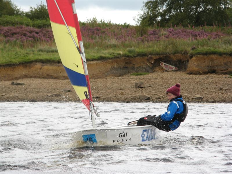 George Stewart, winner of the junior LAC during the August Bank Holiday weekend at Kielder Water - photo © Annabelle Scullion