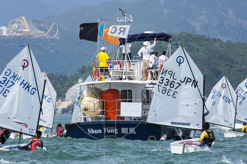2017 Optimist Asian and Oceanian Championship day 4 photo copyright 2017 Optimist Asian & Oceanian Championships / Guy Nowell taken at Royal Hong Kong Yacht Club and featuring the Optimist class
