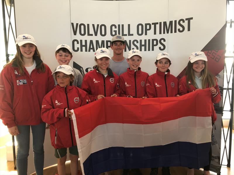 GBR team selected to compete at Optimist Europeans in Holland - photo © IOCA UK