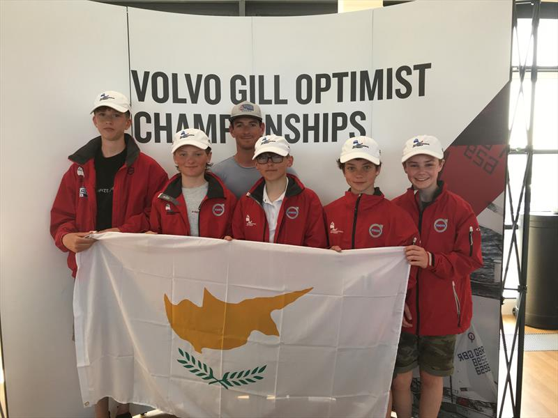 The GBR Worlds Optimist team will be heading to Cyprus - photo © IOCA UK