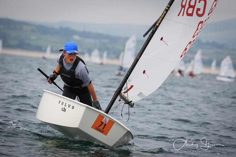 siblings top leaderboard after volvo gill optimist british