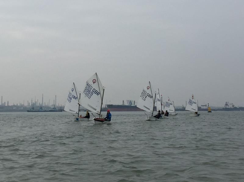 IOCA South Easter Training at Hamble - photo © Zara Howarth