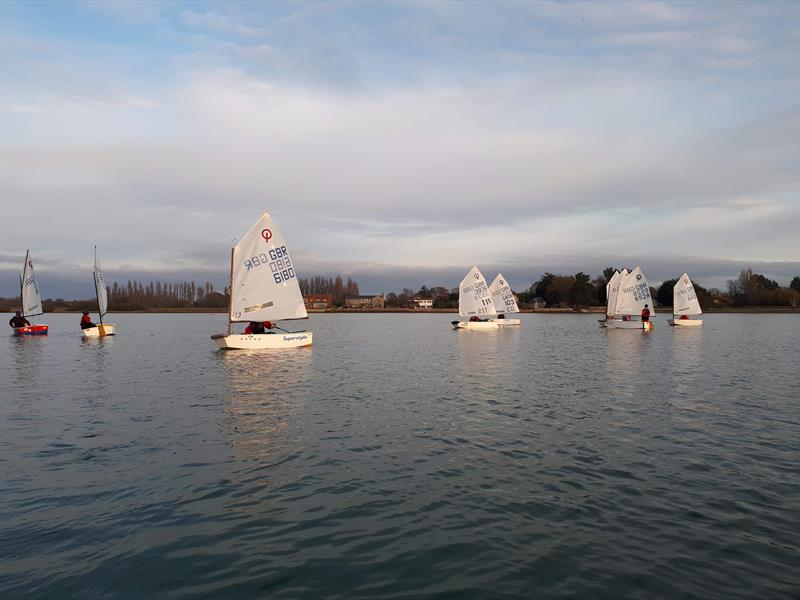 IOCA South Pre Zone Winter Training Session 2 at Bosham - photo © Andy Kerr