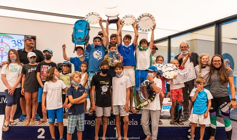 38th Lake Garda Optimist Meeting prize giving - photo © Zerogradinord / A Trawoeger
