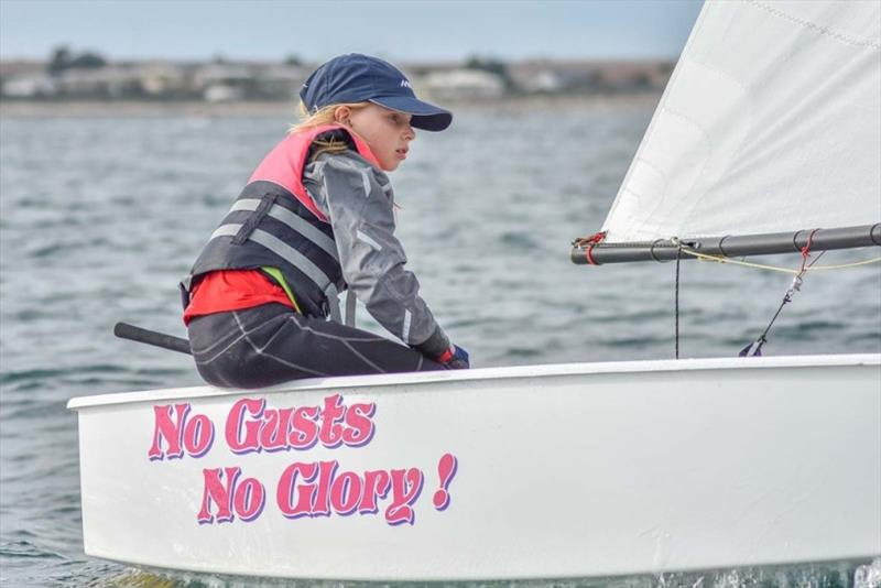 Kelly Steele was the first placed girl in last year's Green fleet - photo © Harry Fisher