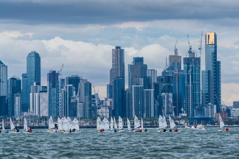 2018 Sail Melbourne International, Day 1 - photo © Beau Outteridge