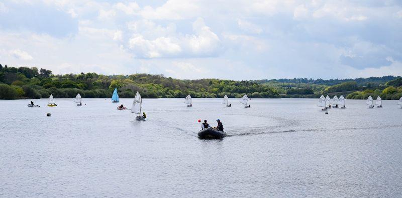 IOCA South East Optimist Travellers Series at Weir Wood - photo © Steve Day