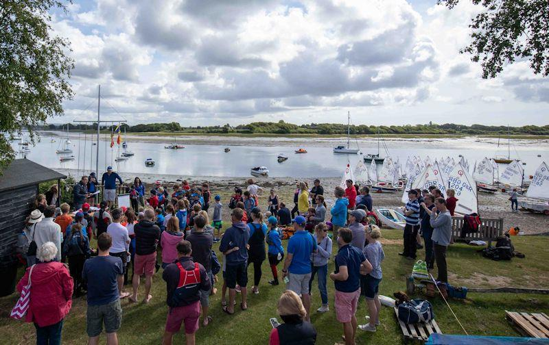 Optimist open meeting at Bosham - photo © Dave Dobrijevic / <a target=