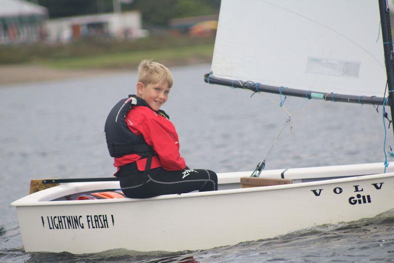 Theo Smith wins Under 12 category - RYA Midlands Youth Series Finale at Bartley - photo © Kerry Webb