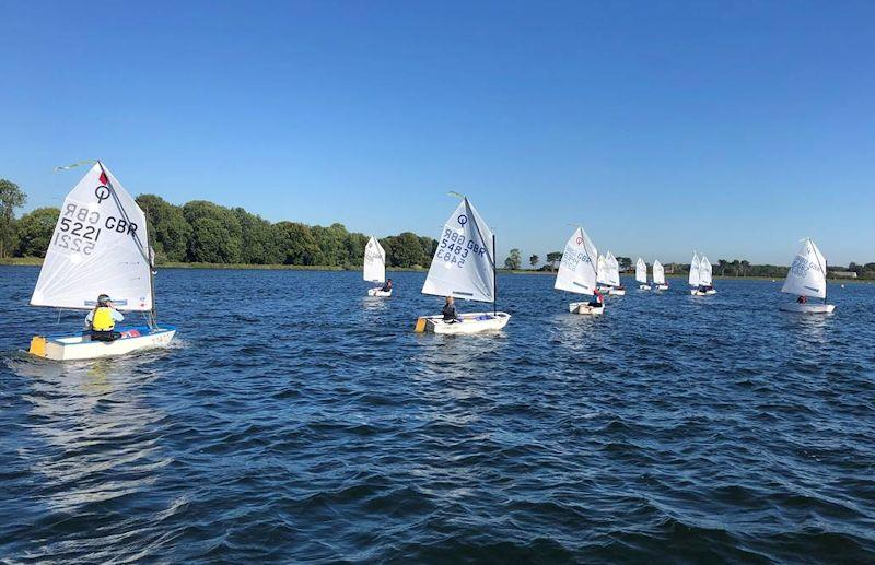 Optimist Midland Area Championship at South Staffordshire - photo © Andy Hateley