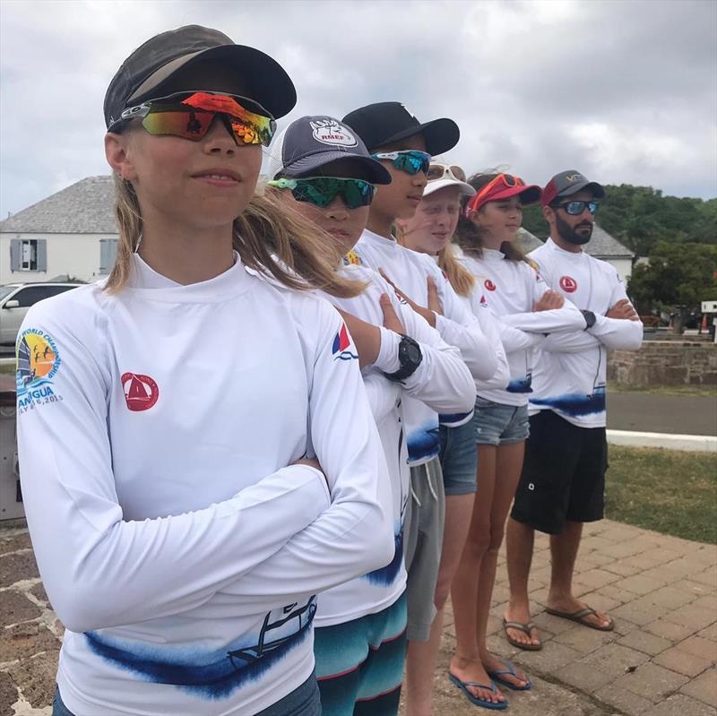 IODA Asian & Oceanian Champs 2019: Julia Jacobsen and HKG team mates photo copyright IODA Media taken at  and featuring the Optimist class