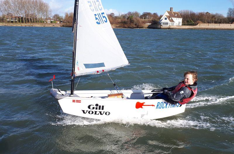 IOCA South Pre Zone Winter Training 6 at Bosham - photo © Andy Kerr
