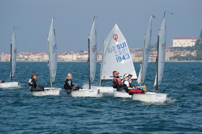2020 Optimist European Championship at Portorož, Slovenia - Day 3