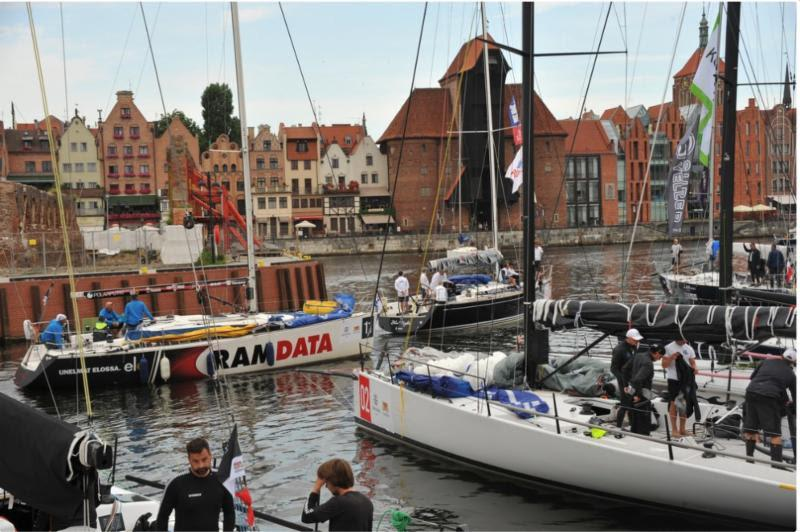 The ORC fleet preparing to leave the historic Gdansk harbour - photo © Tadeusz Lademann