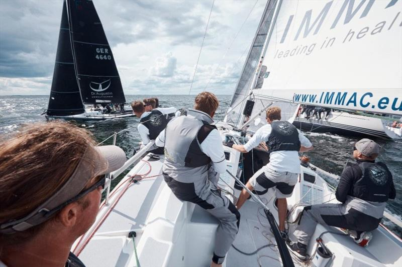 Tight tactics kept teams busy in Class C - SSAB ORC European Championship 2019 - photo © Felix Diemer