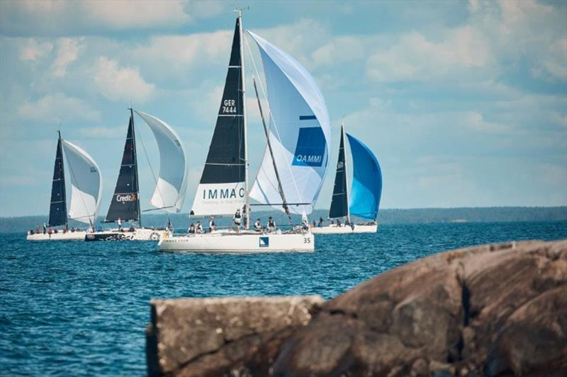 Class C contenders navigate among the rocks - 2019 SSAB ORC European Championship, Day 2 - photo © Felix Diemer