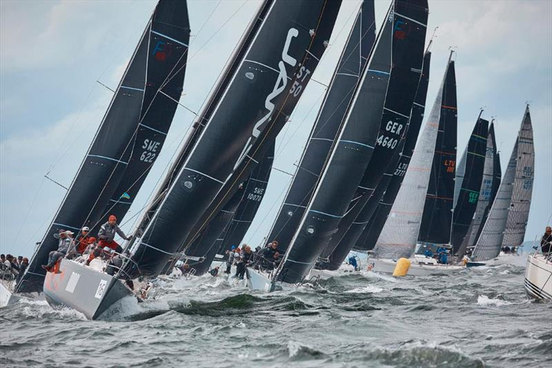 Class C action was some of the most intense in the regatta - 2019 SSAB ORC European Championship - photo © Felix Diemer