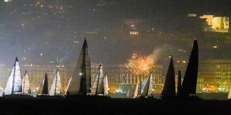 Racing at the 2020 ORC Europeans has a spectacular Midnight start at the 66th Tre Golfi Race in Napoli photo copyright ORC Media taken at  and featuring the ORC class
