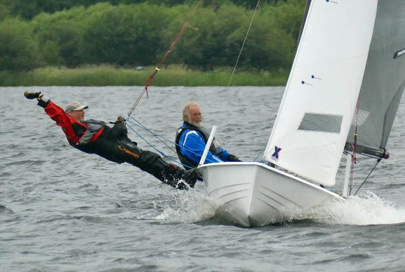 Alec Mamwell & Arthur Butler finish 2nd in the Bala Long Distance Weekend - photo © John Hunter