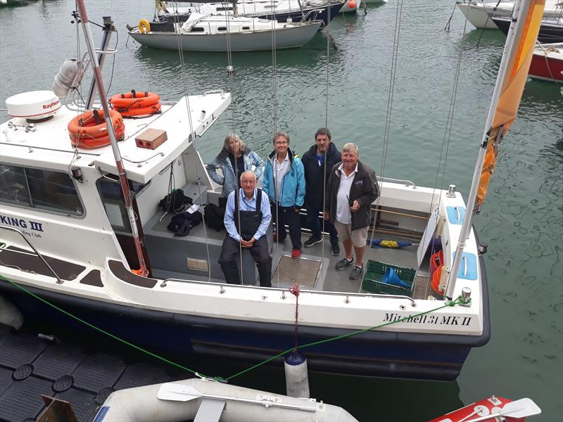 The Race Committee during the Osprey Nationals in Weymouth - photo © Simon Hawkes