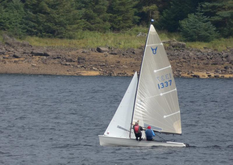 Rob Shaw and Ian Little during the Osprey Scottish & Northerns at Kielder Water - photo © Angela Mamwell