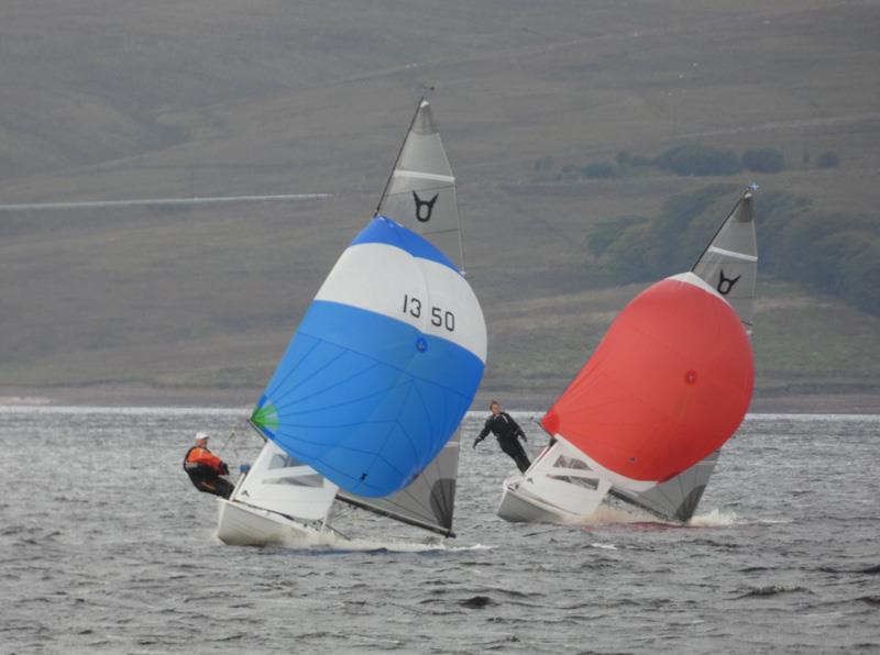 Alec Mamwell / Arthur Butler and Alan Henderson / Lorraine Ball during the Osprey Scottish & Northerns at Kielder Water - photo © Angela Mamwell