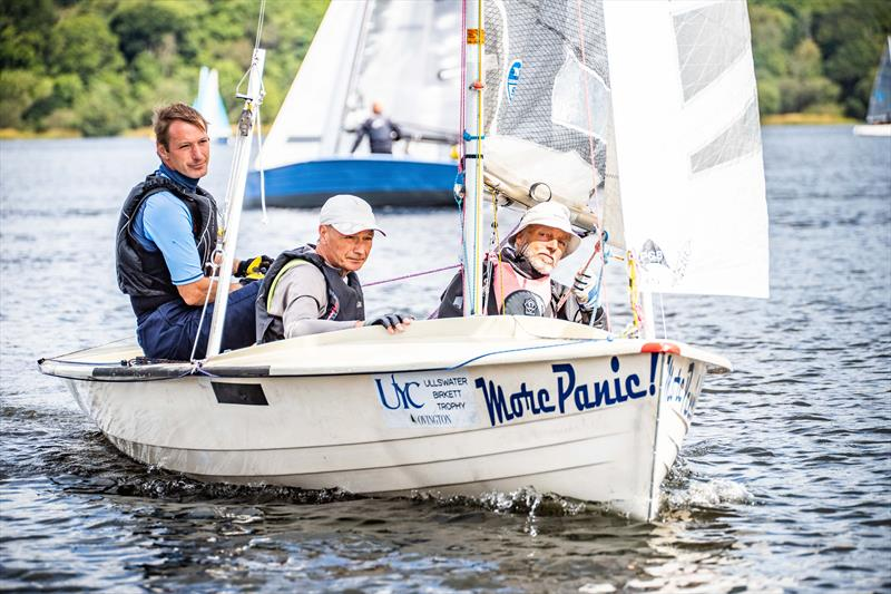 The One Bassenthwaite Lake Sailing Week photo copyright Peter Mackin taken at Bassenthwaite Sailing Club and featuring the Osprey class