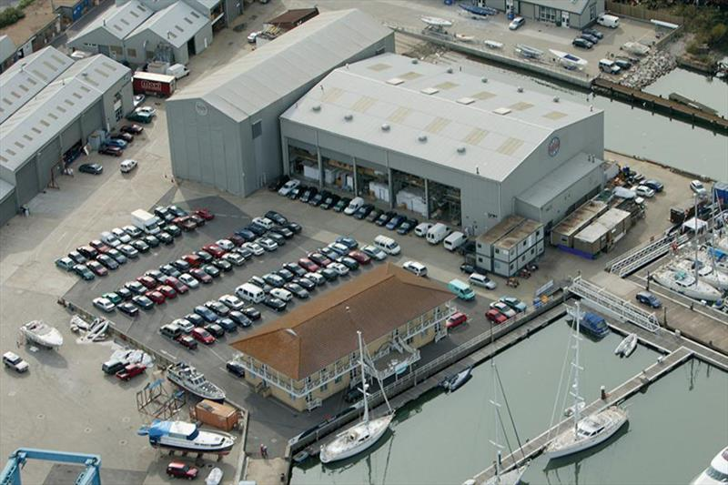 Oyster Yachts' Southampton facility. - photo © Oyster Yachts