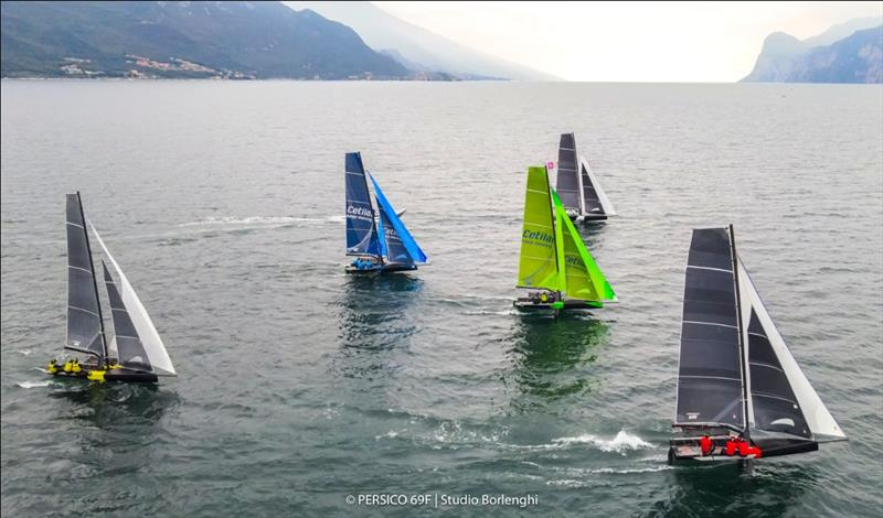 Persico 69F Grand Prix 3.1 in Malcesine - Day 1 - photo © Persico 69F / Studio Borlenghi