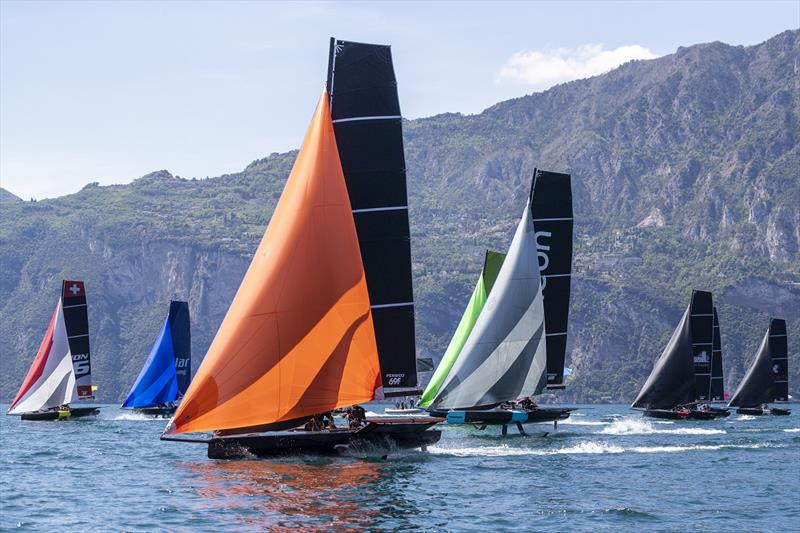 Persico 69F Cup put on a show in Malcesine on Lake Garda