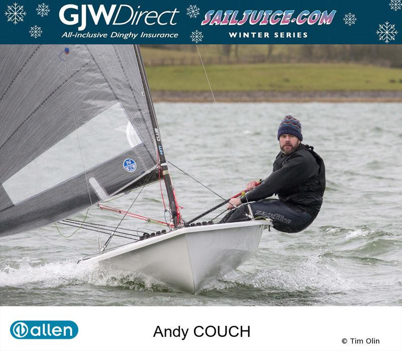 Andy Couch during the GJW Direct SailJuice Winter Series - photo © Tim Olin / www.olinphoto.co.uk