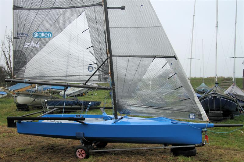 International 14 Rebuild: Rigged and ready to go! - photo © Mark Jardine
