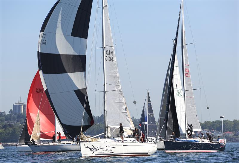 Racecourse drama ensues at the 2017 Swiftsure International Yacht Race - photo © Jan Anderson