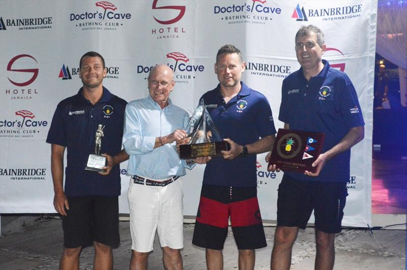Argo Record Breaking Trophy - 2019 Pineapple Cup photo copyright Edward Downer / Pineapple Cup taken at Montego Bay Yacht Club and featuring the PHRF class