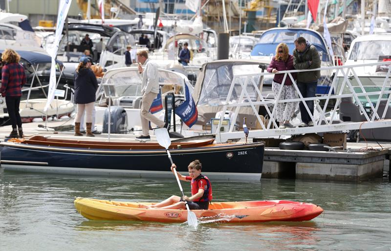 100 days until the Poole Harbour Boat Show opens