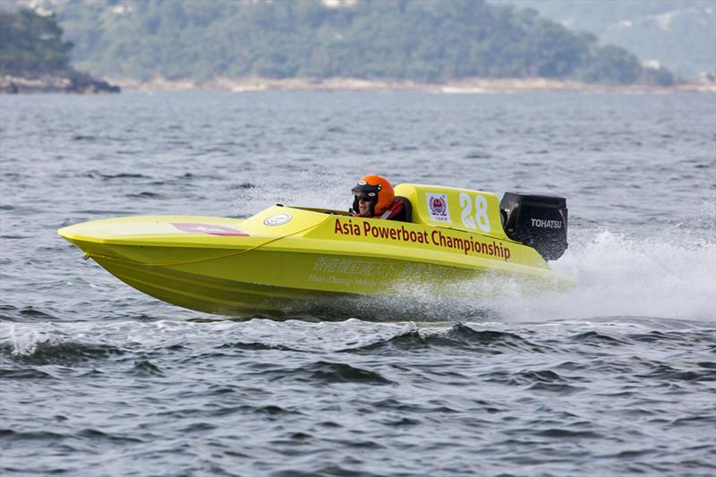 Campbell Jenkins, AUS. Asia Powerboat Championships 2018. - photo © Guy Nowell