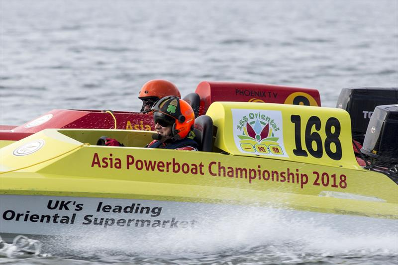 Francis Notscaele, BEL. Asia Powerboat Championships 2018. - photo © Guy Nowell