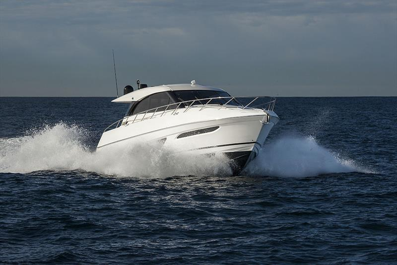 Now is a good time to go whale spotting in your Maritimo X50. - photo © John Curnow