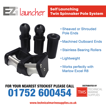 Technical Marine Supplies - EZi Launcher Self Launching Twin Spinnaker Pole System