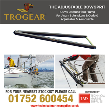 Technical Marine Supplies - Trogear Adjustable Bowsprits