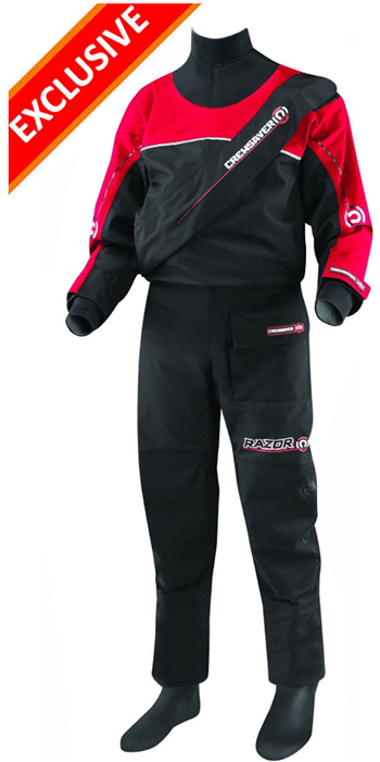2019 Crewsaver Razor Junior Drysuit Including Underfleece