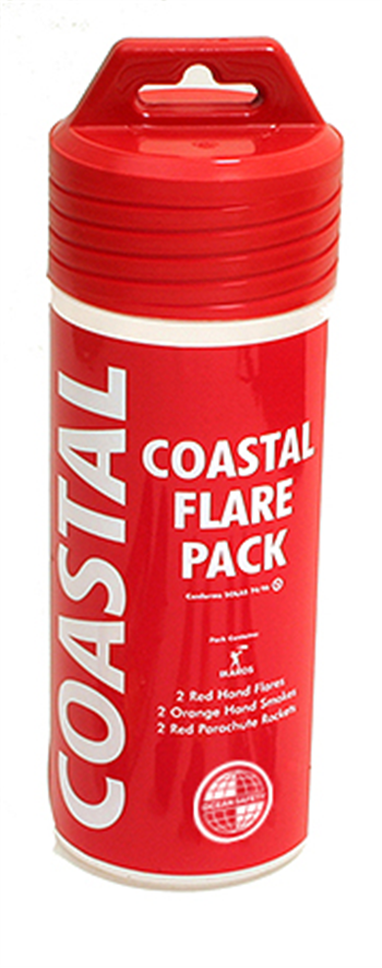 Ocean Safety Coastal Flare Pack